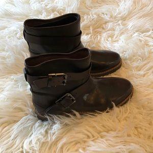 Aerosoles choc brown short boots